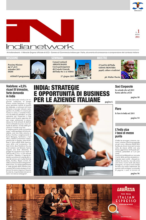 copertina IN Indianetwork 2011